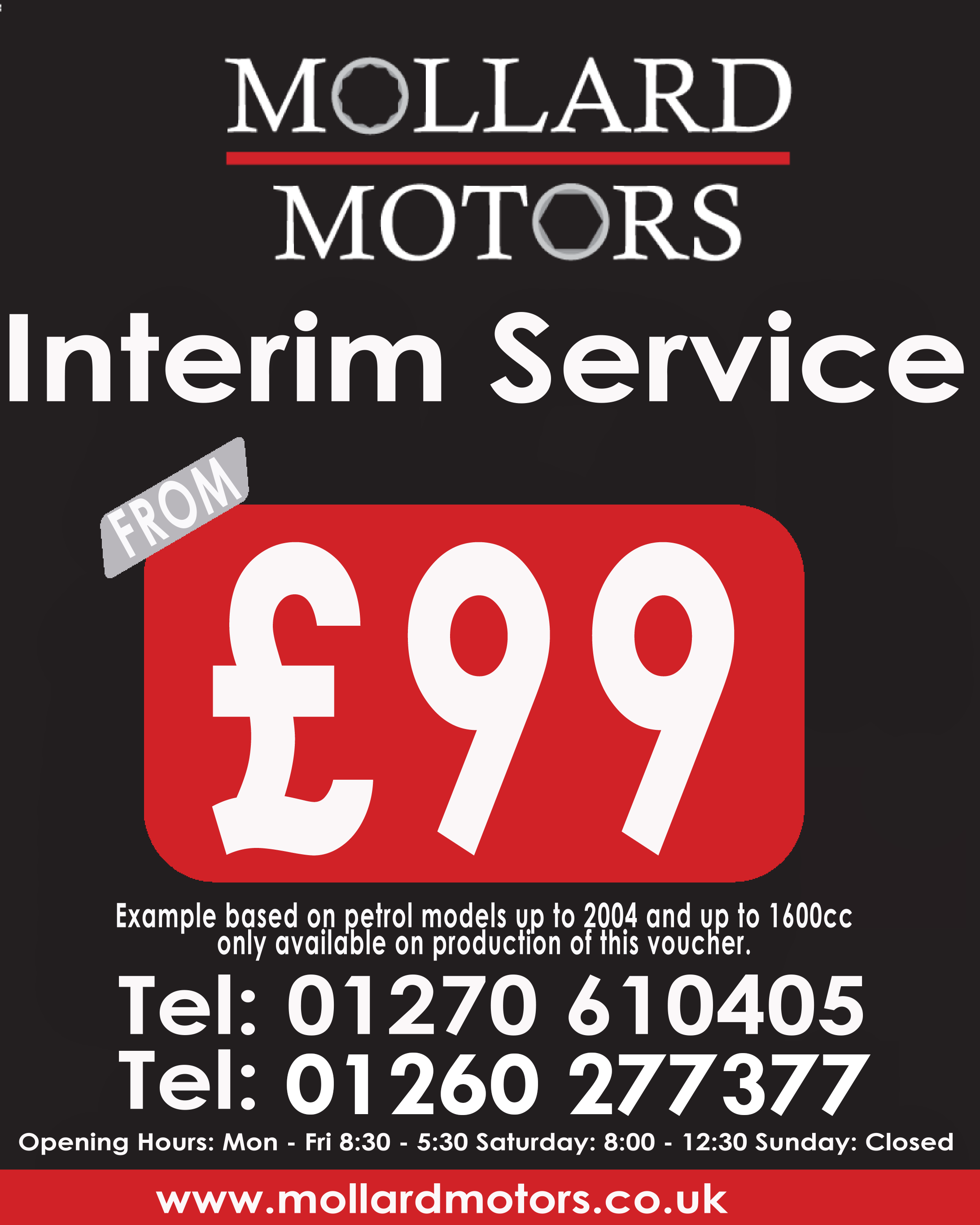 INTERIM SERVICE FROM £69